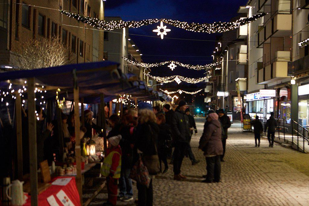 Julskyltning i Nässjö